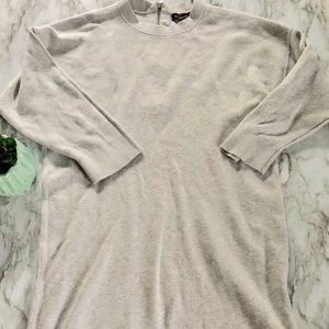 Banana Republic   grey sweater dress • S